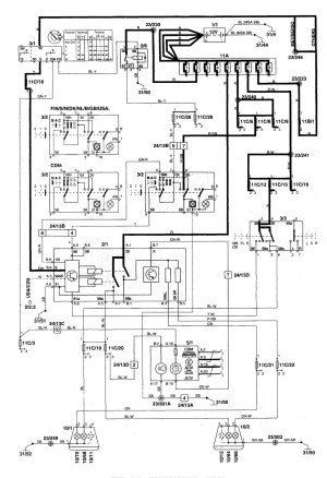 Volvo C70 (1999  2004)  wiring diagrams  headlamps