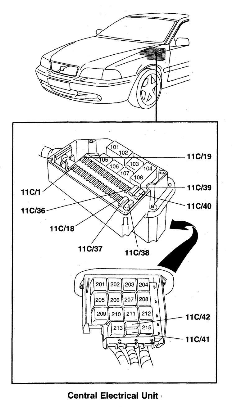 98 Subaru Heater Blower Motor Diagram