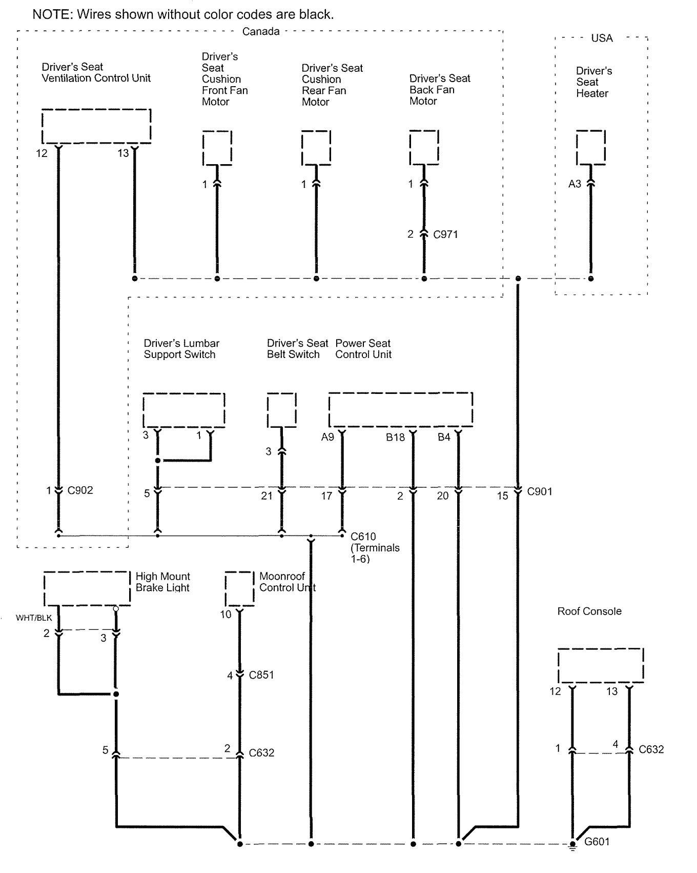 acura rl wiring diagram ground distribution v2 4 2005?resize\=840%2C1051 2005 acura rl wiring diagram 2005 mercury monterey wiring diagram 2006 Acura RL Interior at gsmportal.co
