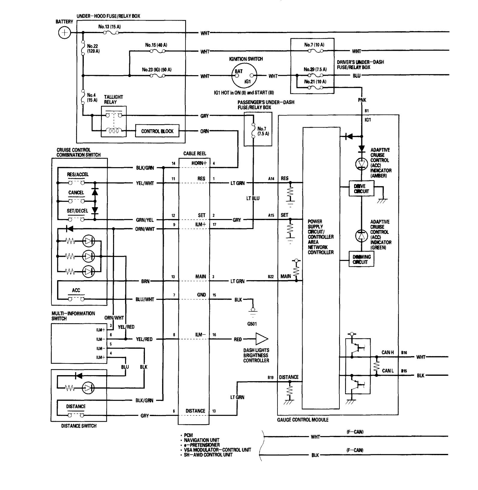 Honda Cr V Wiring Diagrams