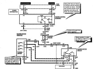 Ford F53 (1997)  wiring diagrams  heater  CARKNOWLEDGE