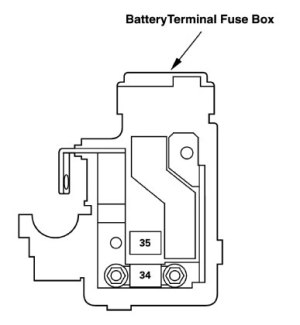 Acura RL (2011)  wiring diagrams  battery  CARKNOWLEDGE