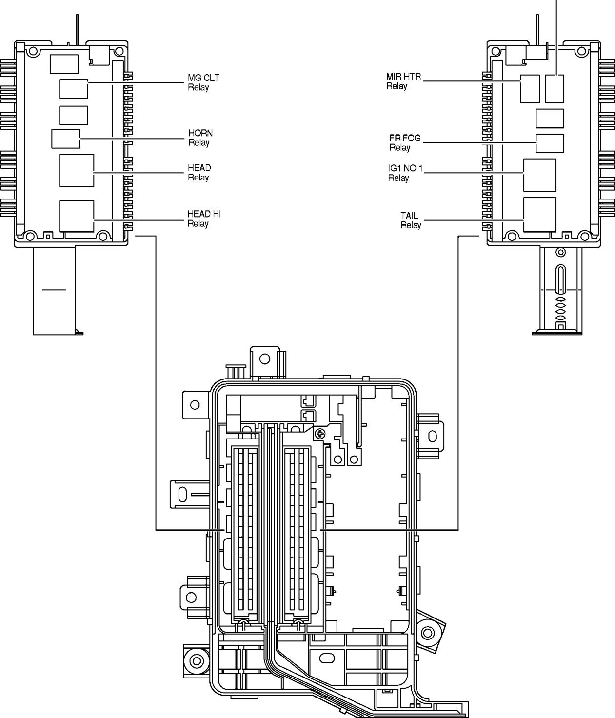 Ford Tauru Fuse Box Diagram