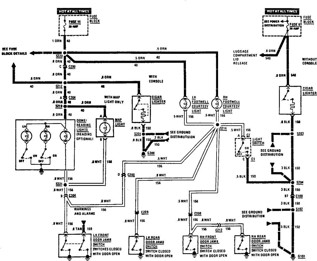 Acura slx 1997 wiring diagrams interior lighting carknowledge acura slx 1997 wiring diagrams interior lighting at acura tl type s