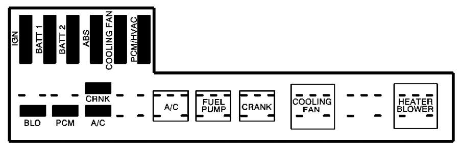 Cavalier Diagram System Cooling