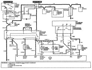 Benz 1990 500sl Mercedes Electrical Diagram ~ Wiring