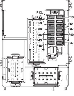 Alfa Romeo MiTo (from 2013) – fuse box diagram  CARKNOWLEDGE