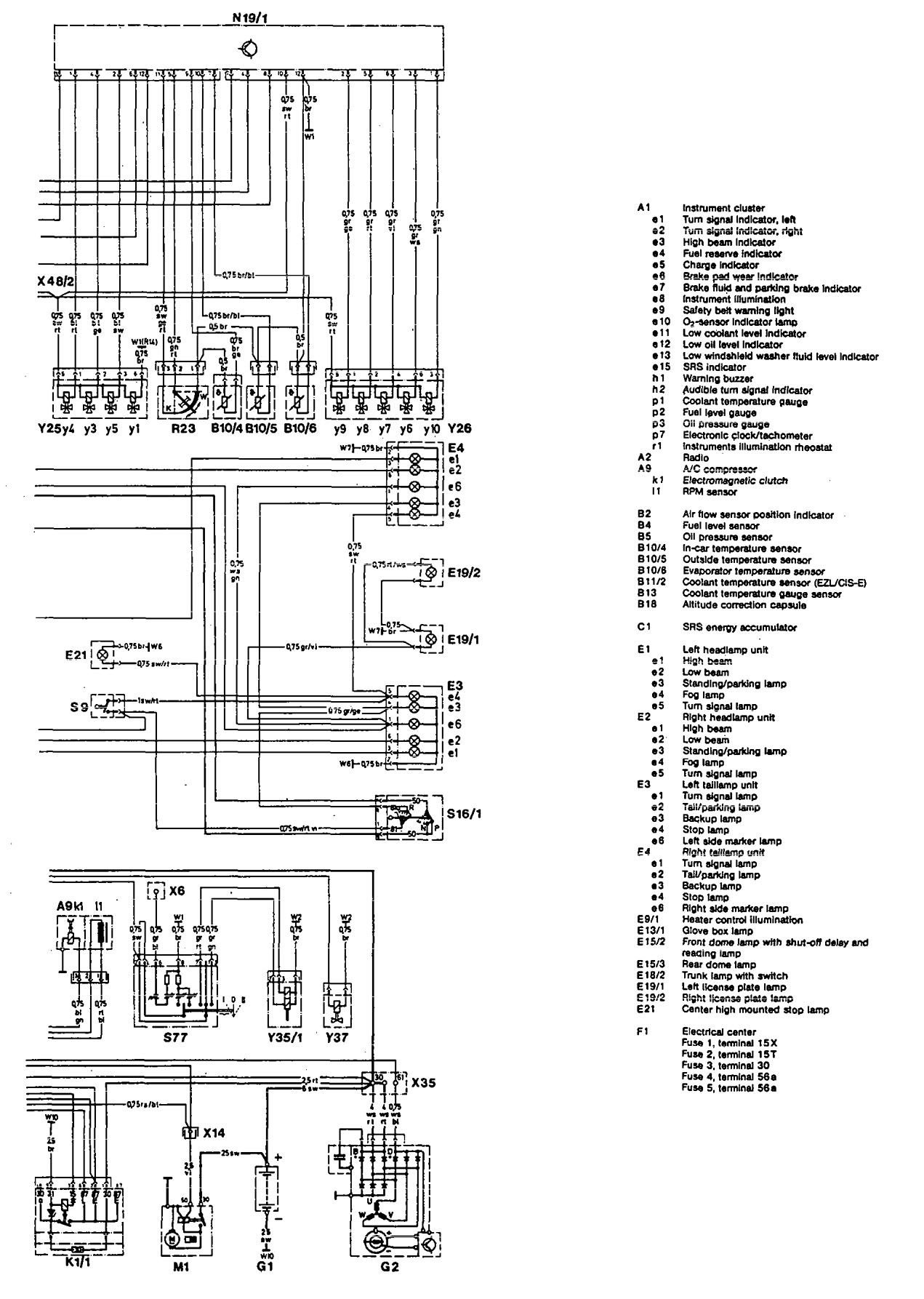 Mercedes Benz 300d Wiring Diagram