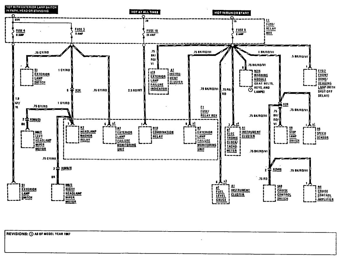 Electrical Wiring Diagram Mercedes Benz 300e