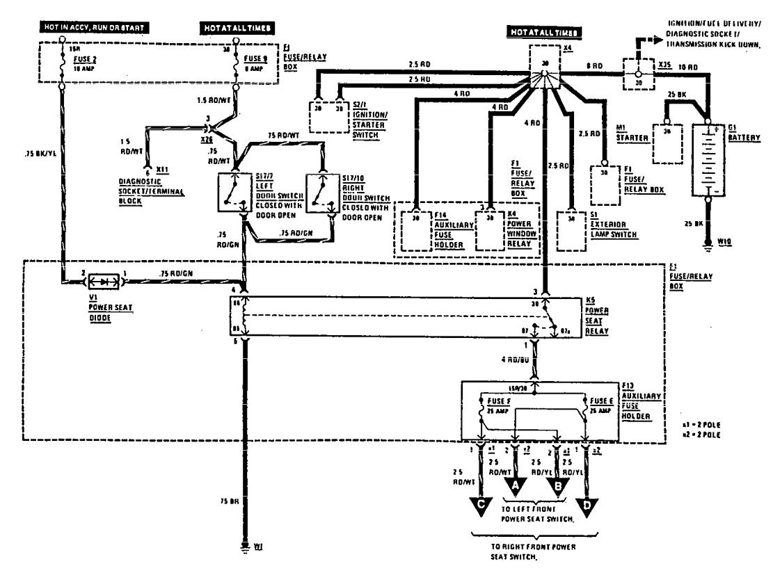 Wrg Mercedes W124 Wiring Diagram