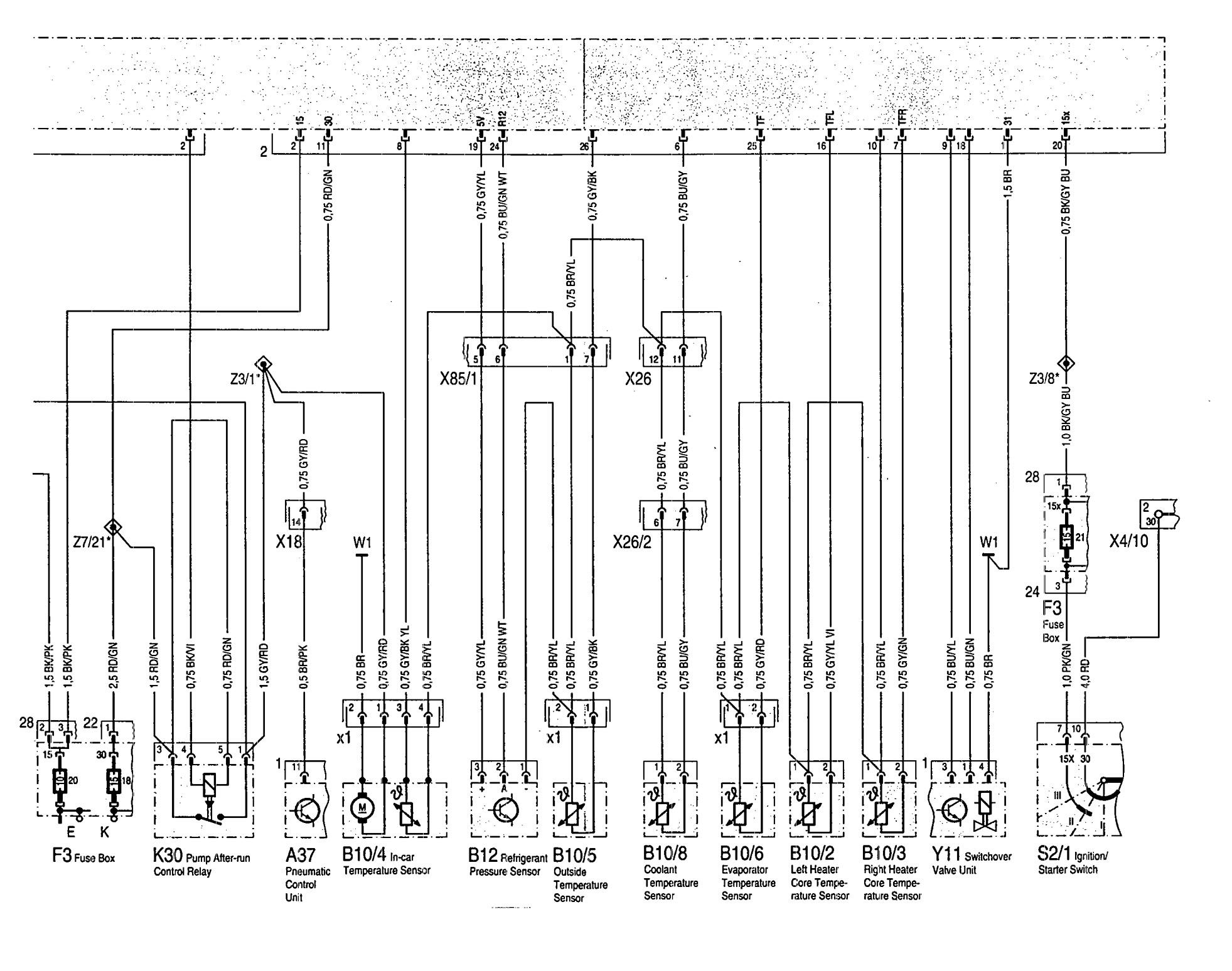 Fuse Schematic For Mercedes S500 2000 Box Home