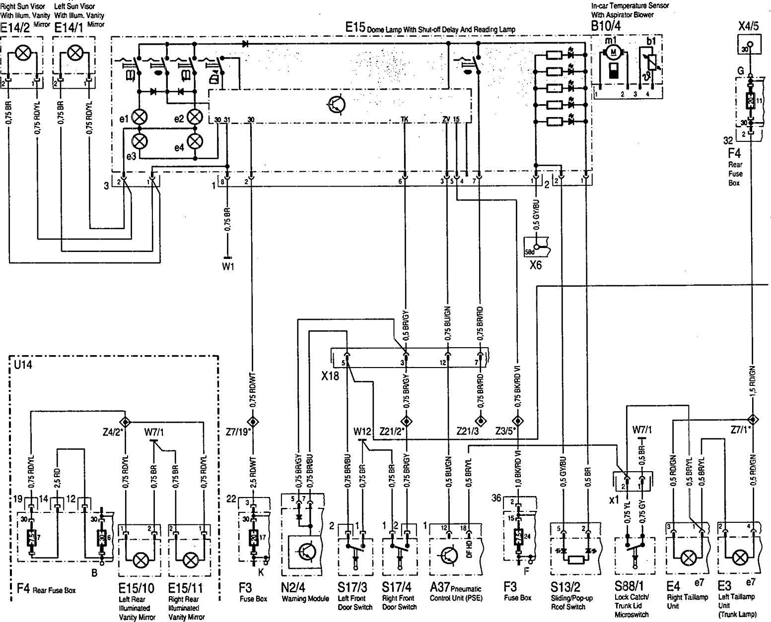 Mercedes Benz C230 Radio Wiring Diagram