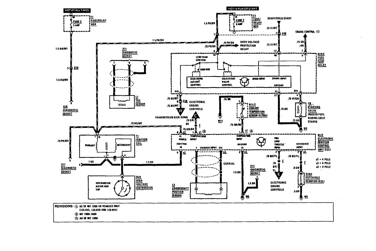 Mercedes Benz Alarm Wiring Diagram