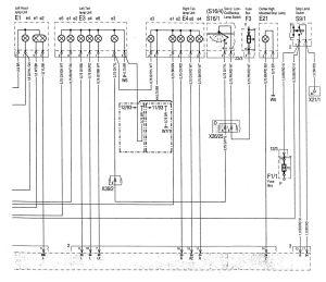 MercedesBenz C280 (1994  1997)  wiring diagrams  interior lighting  CARKNOWLEDGE