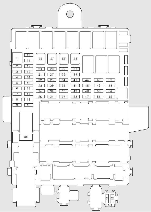honda fit 2009 – 2010 – fuse box diagram  carknowledge