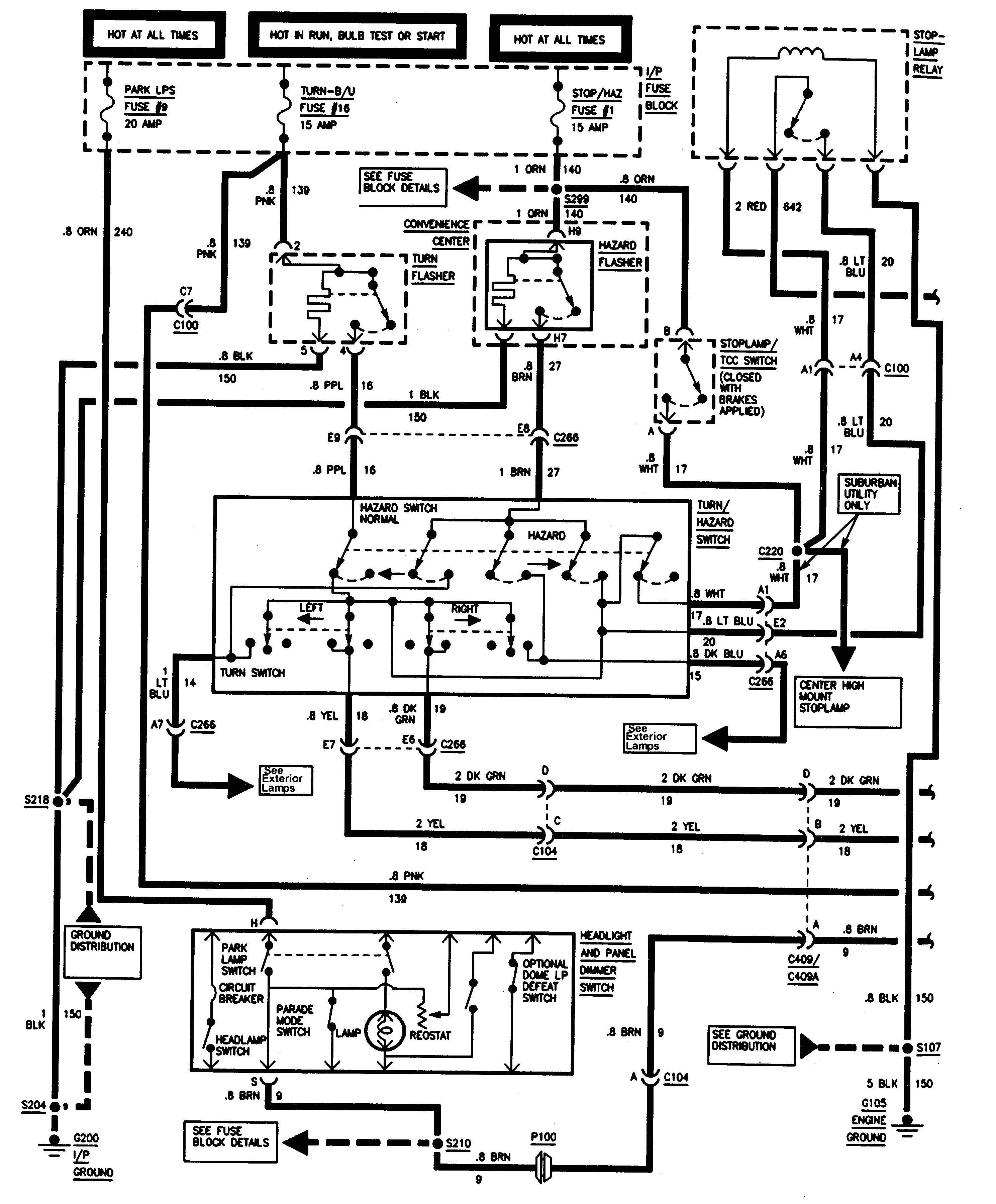 01 Chevrolet Wiring Diagram