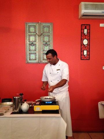 Chai master class at Hotel Saravana Bhavan, Croydon.