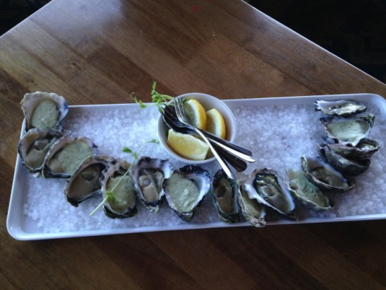 Enjoy oysters plucked from the leases you overlook from Harrington's Irish Pub.