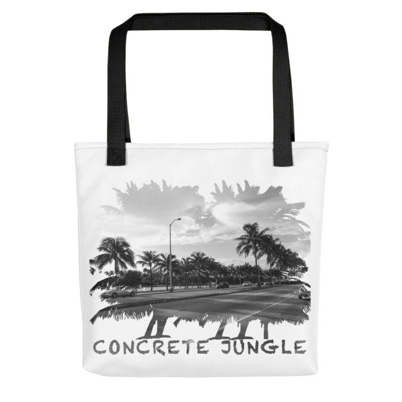 Concrete Jungle - Miami Beach, Florida - Carla Durham, travel photographer - Carla in the City - Carla Durham - white tote bag