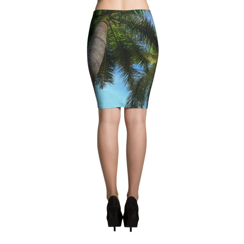palm-tree-pencil-skirt-back