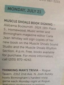 Weld for Birmingham, July 16, 2014