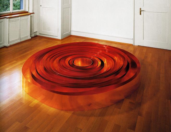 Carl Andre Copper Galaxy