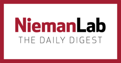 Nieman Lab has one of the best newsletters about journalism