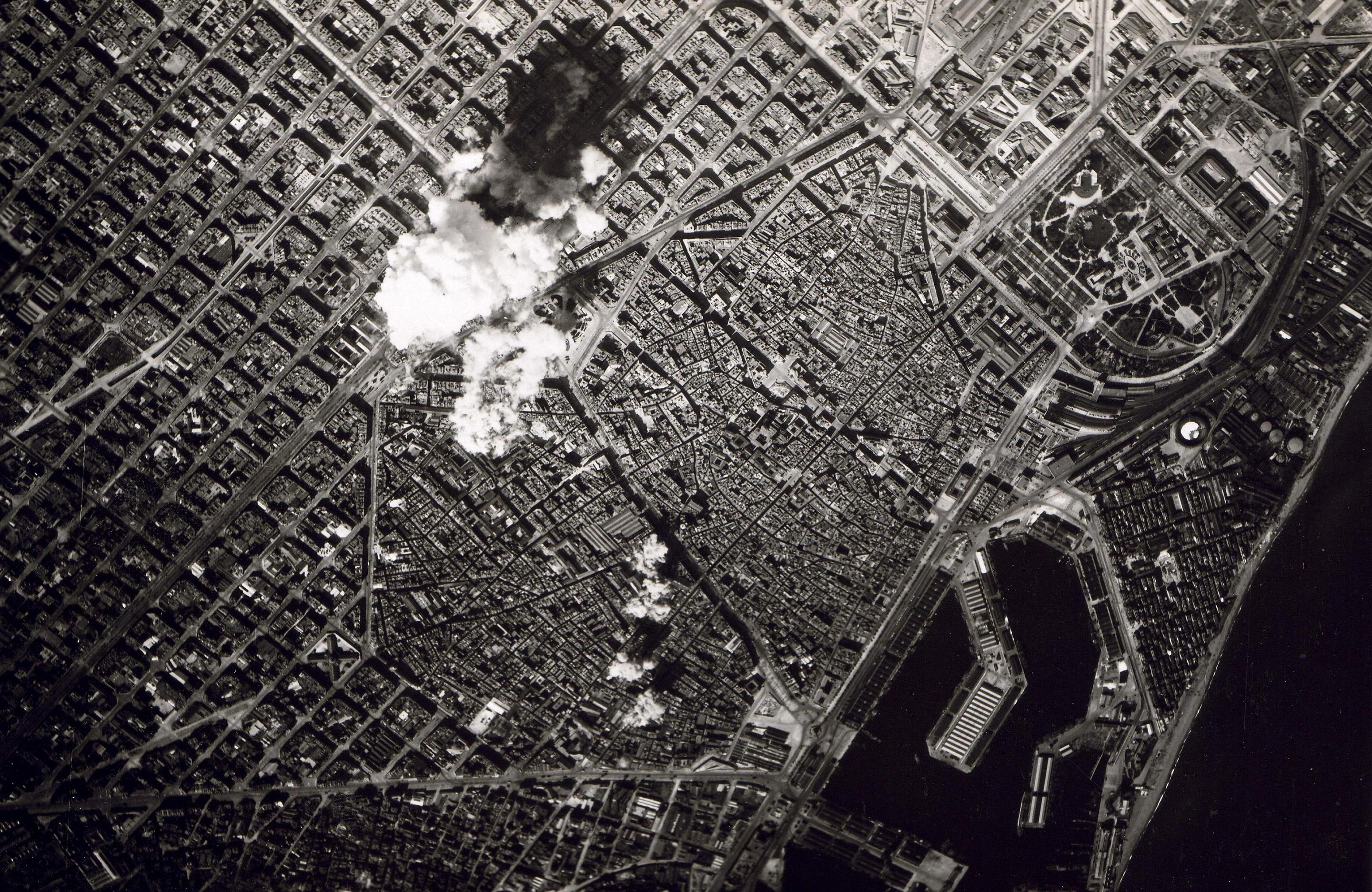 Bombings in Barcelona in 1938