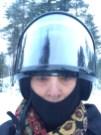 20151226 LAPLAND Snowmobile2