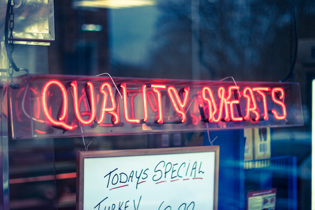 Quality Meats in Neon