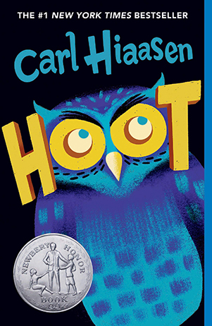 Image result for hoot by carl hiaasen
