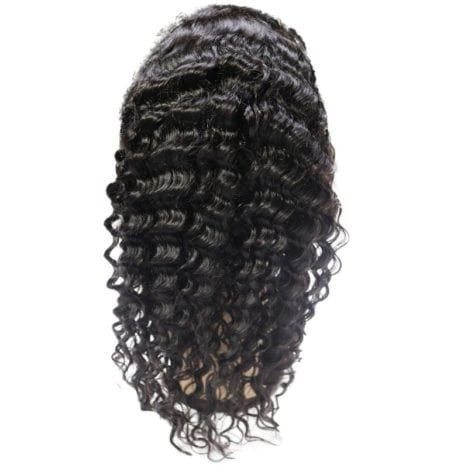 Brazilian Deep Wave Front Lace Wig (back)