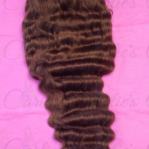 Deep Wave Lace Front 10 Inch Wig, Color #4