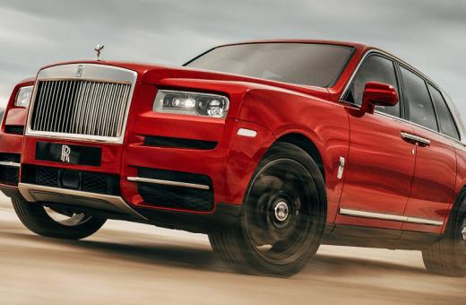 Rolls-Royce afslører Cullinan