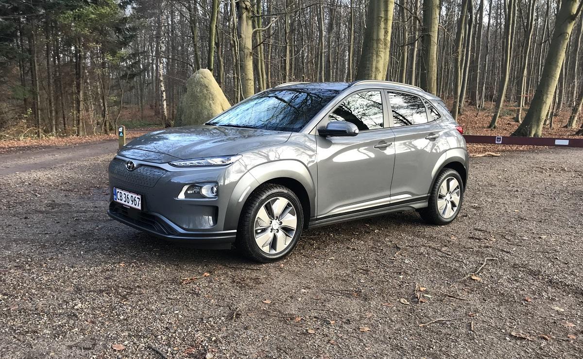 Første tur i Hyundai Kona electric