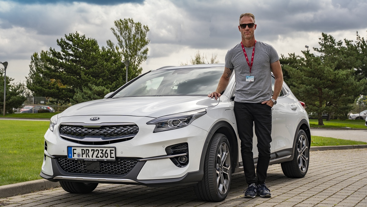 KIA XCeed PHEV med UVO Connect