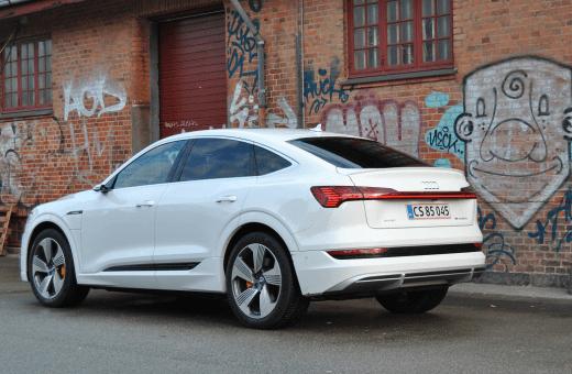 Test: Audi e-tron Sportback S line Prestige 55 quattro