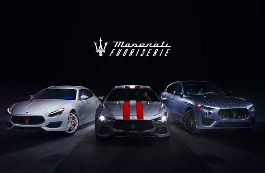 Maserati viser mod med Fuoriserie program
