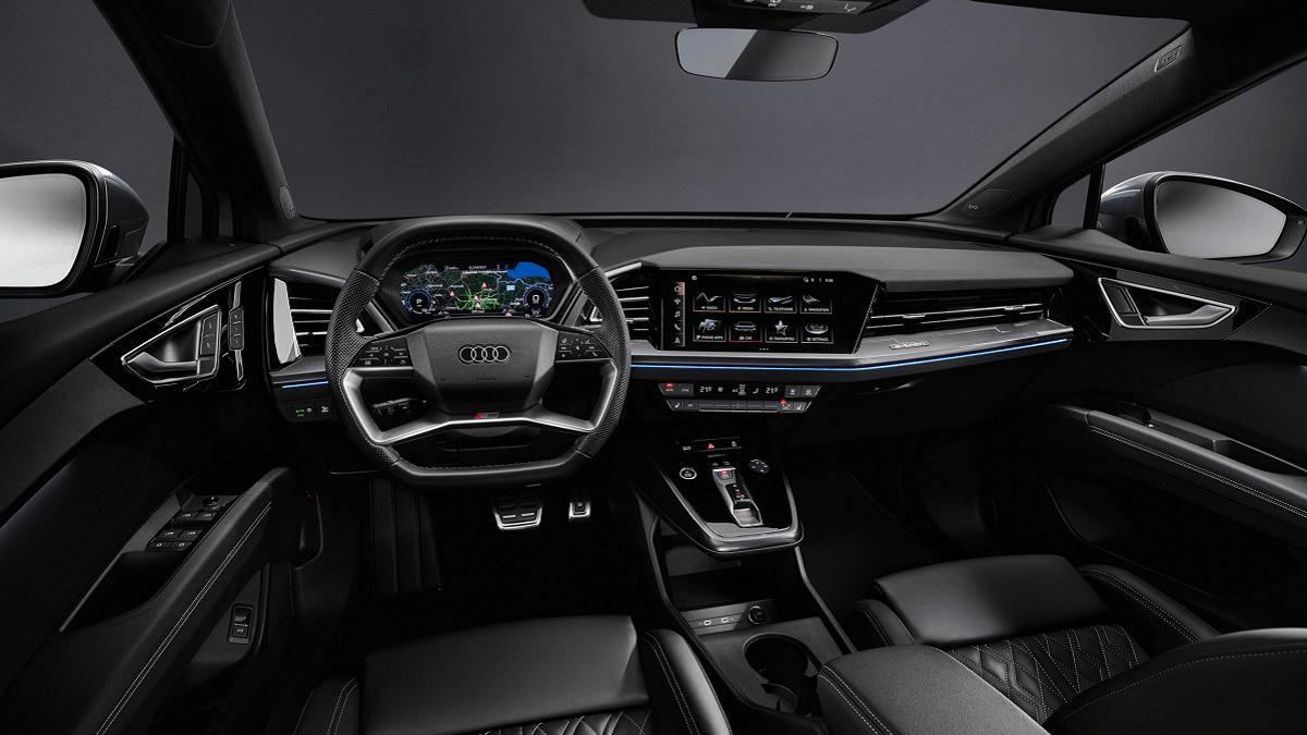 Så fed er kabinen i den nye Audi Q4 e-tron
