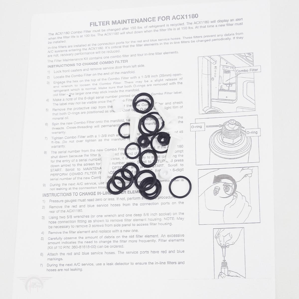 Rti Arctic Pro Filter Kit Rhs980 360 00 Car Lift Parts