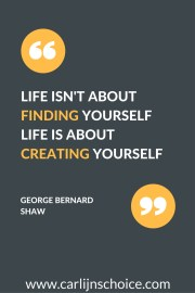 quote finding yourself take action #carlijnschoice