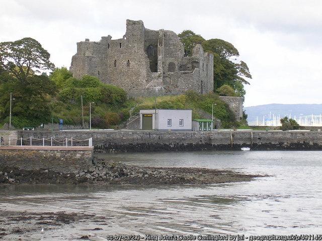 Carlingfor Johns Castle
