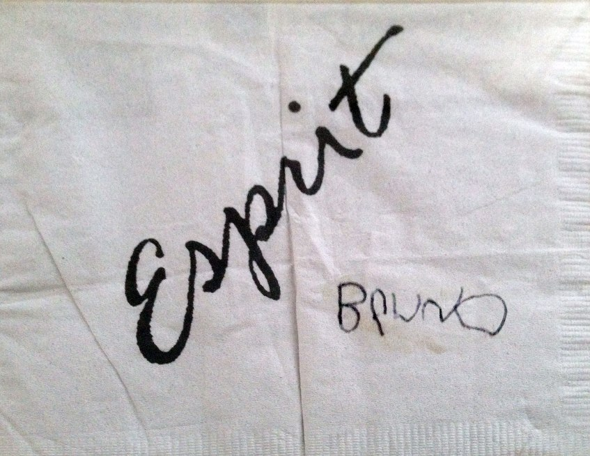 Esprit Lounge napkin composite