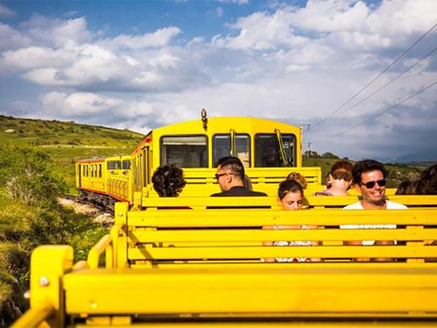 Hôtel Carlit - Font-Romeu - Petit train jaune