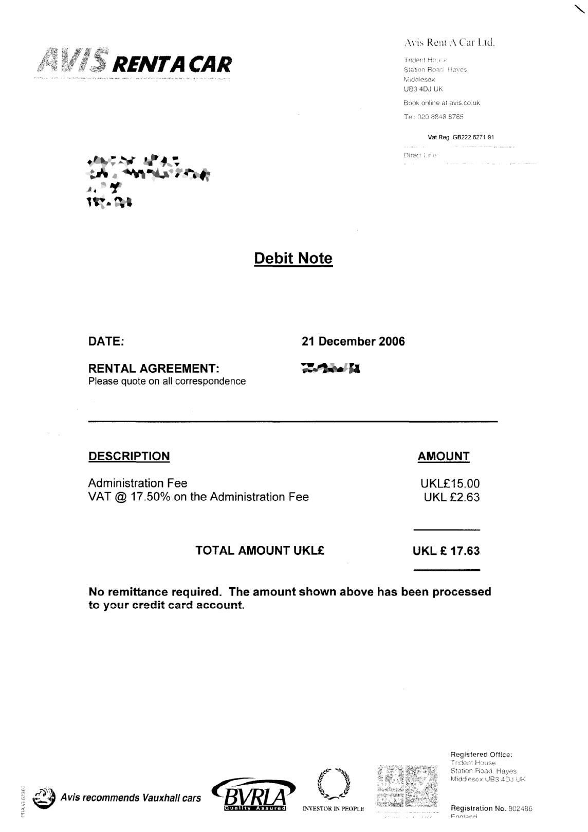 Debit Note Template 3 what is a debit memoreport template – Debit Note Letter