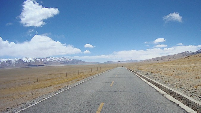 The vastness of the Tibetan high plateau can only be experienced by being there...