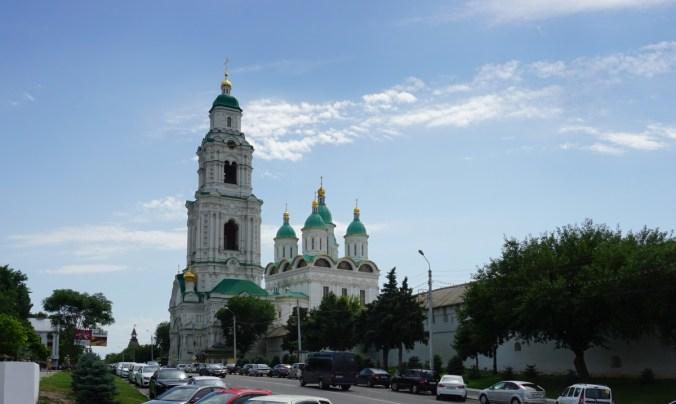 Astrakhan Kremlin.