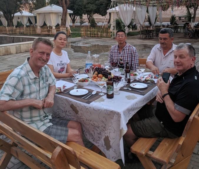 Khiva farewell dinner