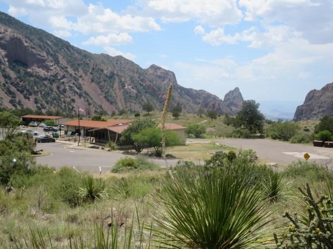 Chisos mountain lodge area.