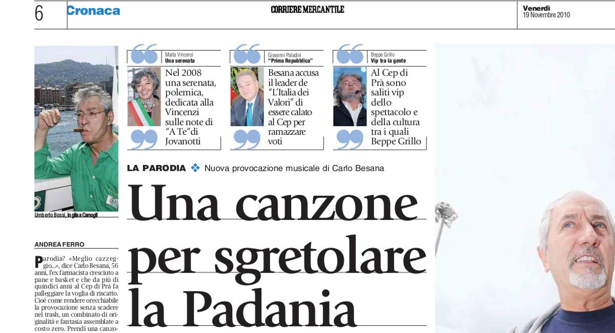 Ma la Padania 'ndo sta?